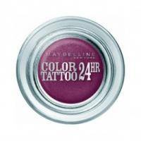 Тени для век кремово-гелевые 1-цветные Maybelline - Color Tattoo 24h №70 Металлический гранатовый - 4.5 g