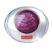 Тени для век 1-цветные запеченные Pupa - Luminys №10 Бархатный пурпур - 2.2 g