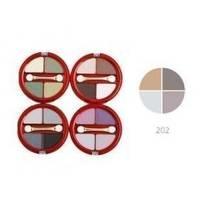 Тени для век 4-х цветные Victoria Shu - Dream №202 - 8.5 g (15513)