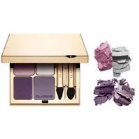 Тени для век 4-цветные минеральные Clarins - Eye Quartet Mineral Palette №05 Violet