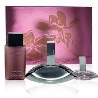Calvin Klein Euphoria - Набор (парфюмированная вода 100 + лосьон-молочко для тела 200 + mini 10)