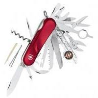Wenger - Армейский нож Evolution красный с фиксатором (арт. 1.54.59.300)