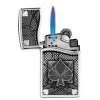 Зажигалка газовая Zippo - Blu2 Ace of Spades Polished Chrome (30201)