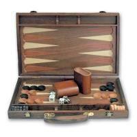 Настольная игра - Нарды Tong в деревянном кейсе 39 х 39 см (арт. 038B)