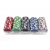 Настольная игра - Набор для покера Duke 100 фишек в пластиковом кейсе (арт.PC11100)