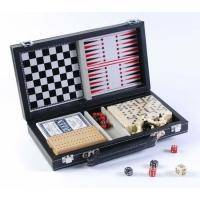 Настольная игра - Набор из 6 игр Duke карты, домино, нарды, шахматы, шашки (арт. MUT06004)