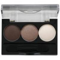 Ninelle - Трехцветные тени для век Smoky Eyes компактные № 22 - 2.4 ml (арт. 17762)