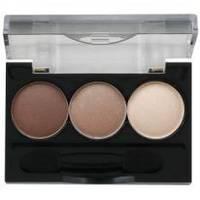 Ninelle - Трехцветные тени для век Smoky Eyes компактные № 23 - 2.4 ml (арт. 17763)