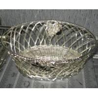 Lessner - Корзинка для фруктов Silver (арт. ЛС99128)