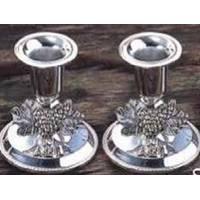 Lessner - Silver Collection Набор подсвечников 2 предмета 7 см (арт. ЛС99164)