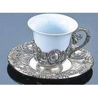 Lessner - Silver Collection Чашка с блюдцем (арт. ЛС99151)