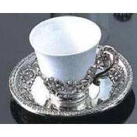 Lessner - Silver Collection Чашка с блюдцем (арт. ЛС99152)