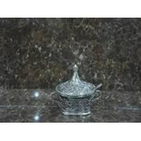 Lessner - Silver Collection Сахарница с ложкой (арт. ЛС99137)