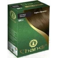 Chandi - Краска для волос. Серия органик. Коричневый - 100 г