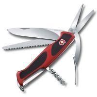 Складной нож Victorinox - Delemont RangerGrip 71 - 130 мм, 7 функций красно-черный (0.9713.C)