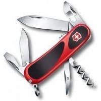 Складной нож Victorinox - Delemont EvoGrip S101 - 85 мм, 12 функций нейлон красно-черный (2.3603.SC)