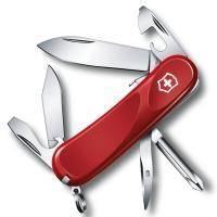 Складной нож Victorinox - Delemont Evolution S14 - 85 мм, 14 функций красный (2.3903.SE)