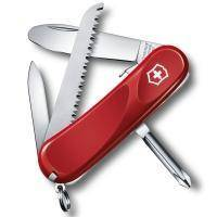 Складной нож Victorinox - Delemont Junior 09 - 85 мм, 8 функций красный (2.4213.SKE)
