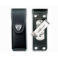Чехол для ножа Victorinox - на ремень 111 мм поворотная клипса черный на липучке (4.0523.31)