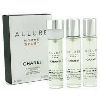 Chanel Allure homme Sport - туалетная вода - 3x20 ml