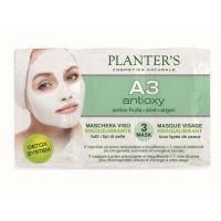 Planters - Детокс-маска для лица с антиоксидантным комплексом A3 Line - 3x10 ml