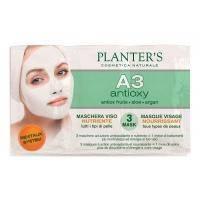 Planters - Питательная маска для лица с антиоксидантным комплексом A3 Line - 3x10 ml