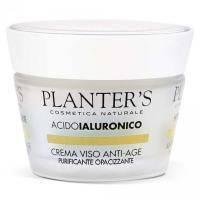 Planters - Крем для лица антивозрастной матирующий с гиалуроновой кислотой Hyaluronic Acid - 50 ml