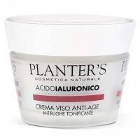 Planters - Крем для лица антивозрастной тонизирующий с гиалуроновой кислотой Hyaluronic Acid - 50 ml