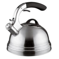 Vinzer -  Чайник SPACE - нержавеющая сталь, 2,6 л, свисток (арт. 89007)