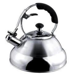 Vinzer -  Чайник SUPERIA - нержавеющая сталь, 2,6 л, свисток (арт. 89009)