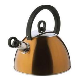 Vinzer -  Чайник SUNNY - нержавеющая сталь, 2,5 л, свисток (арт. 69012)