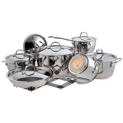 Vinzer -  Набор посуды PROFESSIONAL - 13 предметов, медное термоаккумулирующее пятислойное дно (арт. 69021)