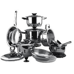 Vinzer -  Набор посуды GRAND SENIOR - 16 предметов, термодатчик, термоаккумулирующее дно (арт. 89023)