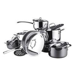 Vinzer -  Набор посуды TRILINE - 14 предметов, посуда из трехслойного материала (арт. 69028)