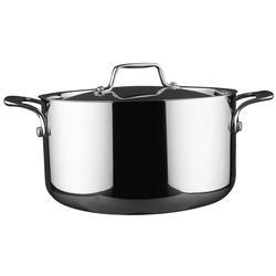 Vinzer -  Кастрюля - нержавеющая сталь, диаметр 20см, 3,7л (арт. 89073)