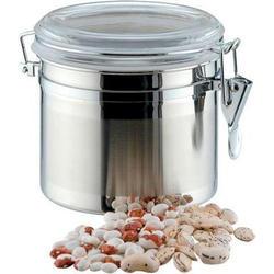 Vinzer -  Емкость для пищевых продуктов - 1,1 л, нержавеющая сталь, акрил, крышка (арт. 69200)