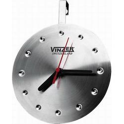 Vinzer -  Кварцевые часы - нержавеющая сталь, диаметр 16,5см (арт. 69233)