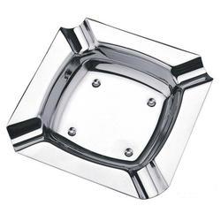 Vinzer -  Пепельница - нержавеющая сталь, 11,5см х 11,5см (арт. 69235)