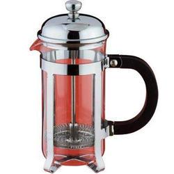 Vinzer -  Кофейник/Заварник Classic - нержавеющая сталь, стекло Pyrex, 350 мл (арт. 69368)