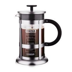 Vinzer - Кофейник / Заварник для чая - стекло Thermix, нержавеющая сталь, 1000 мл (арт. 89380)