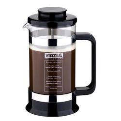 Vinzer -  Кофейник / Заварник для чая - стекло Thermix, пластм, ложка, 350 мл (арт. 69395)