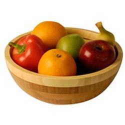 Vinzer -  Бамбуковая салатница, диаметр 20 см (арт. 69910)
