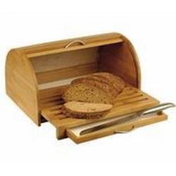 Vinzer -  Бамбуковая хлебница с выдвижной разделочной доской (арт. 69931)